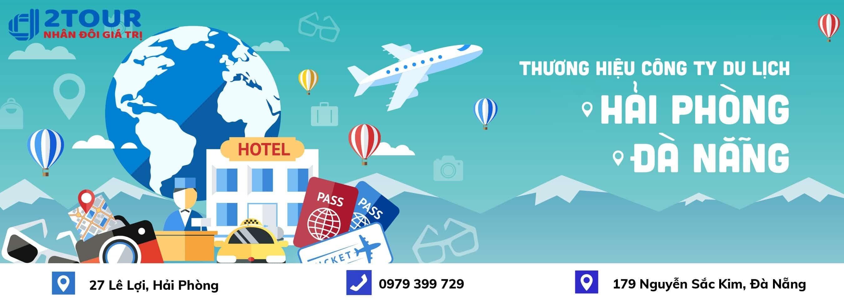 Thương hiệu công ty du lịch Đà Nẵng D2Tour Hải Phòng