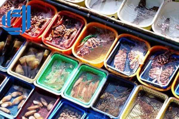 hải sản biển tươi sống điểm dừng chân không thể bỏ qua trong tour đà nẵng từ hải phòng
